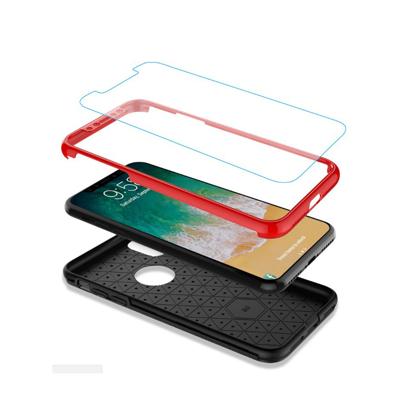 Futrola 360 full zastita za Iphone X/XS crvena