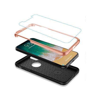 Futrola 360 full zastita za Iphone X/XS pink