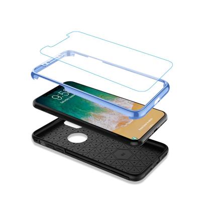 Futrola 360 full zastita za Iphone X/XS plava