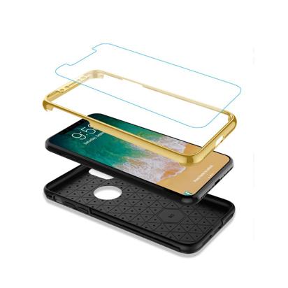 Futrola 360 full zastita za Iphone X/XS zlatna