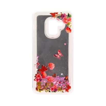 Futrola Flower Fluid za Samsung A530F Galaxy A8 2018 model 2