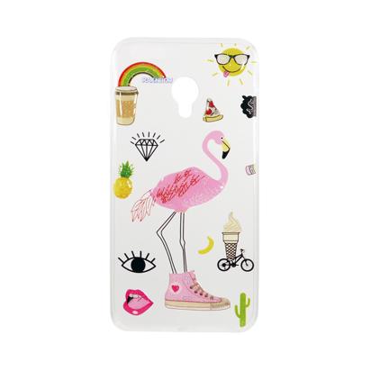 Futrola Summer Vibes za Alcatel U5 4G 5044D/5044Y Flamingo
