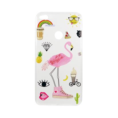 Futrola Summer Vibes za Huawei Honor 8 Lite / P8 Lite 2017 / P9 lite 2017 Flamingo