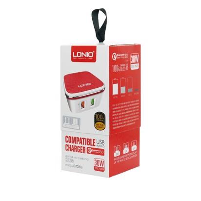 Kucni punjac LDNIO A2405Q dual USB 2.4A FAST CHARGING QC 3.0 Micro USB