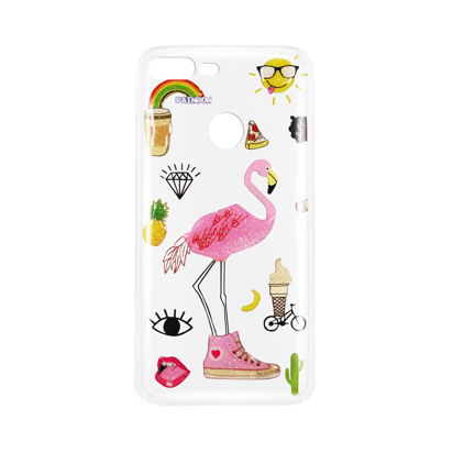 Futrola Summer Vibes za Huawei Honor 9 Lite Flamingo