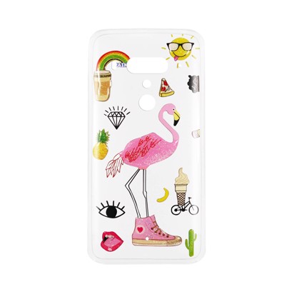 Futrola Summer Vibes za HTC U12 Plus Flamingo