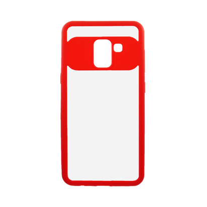 Futrola Auto Focus Mirror za Samsung A530F Galaxy A8 2018 crvena