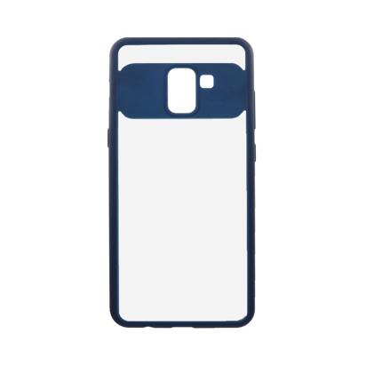 Futrola Auto Focus Mirror za Samsung A730F Galaxy A8 Plus 2018 plava