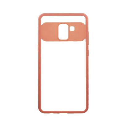 Futrola Auto Focus Mirror za Samsung A730F Galaxy A8 Plus 2018 pink