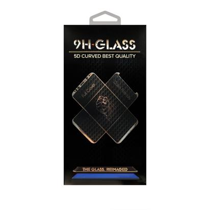 Staklena folija (glass 5D) za Samsung A730F Galaxy A8 Plus 2018 black