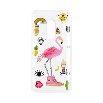Futrola Summer Vibes za Alcatel OT 1X/5059 Flamingo