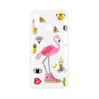 Futrola Summer Vibes za Huawei Honor Play Flamingo