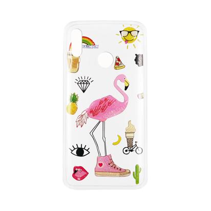 Futrola Summer Vibes za Huawei Honor 8X Flamingo