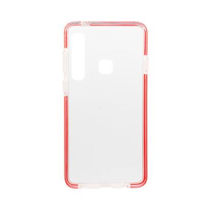 Futrola Clear Lines za Samsung A920F Galaxy A9 2018 Crvena
