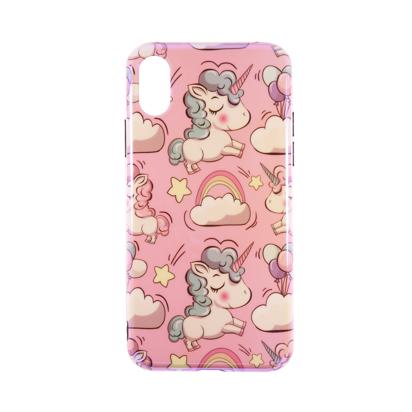 Futrola Unicorn za iPhone X/XS roza