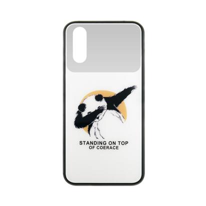 Futrola Mirror Print za Huawei P20 Panda Dab