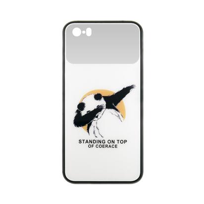 Futrola Mirror Print za Iphone 5G/5S/SE Panda Dab