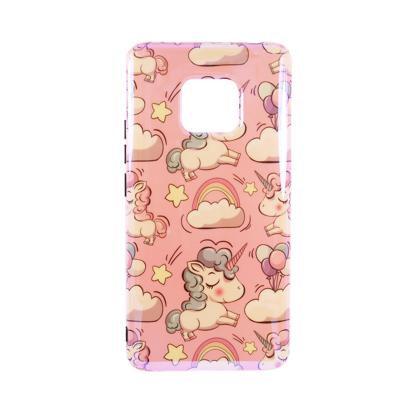 Futrola Unicorn za Huawei Mate 20 Pro roza