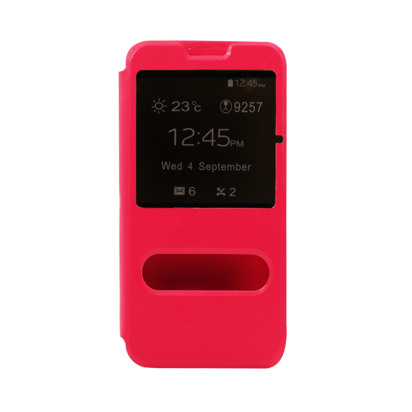 Futrola Window za Huawei G620 pink