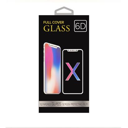 Staklena folija (glass 5D Full Glue) za iPhone 6 Plus/6s Plus Black