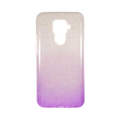 Futrola SHOW YOURSELF za Huawei Mate 30 Lite / Nova 5i Pro srebrno-ljubicasta