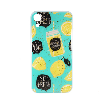Futrola Double Print Lemon za iPhone XR