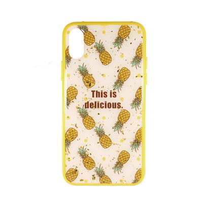 Futrola Double Print Pineapple za iPhone X/XS