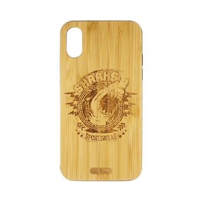 Futrola Wood za iPhone X/XS Sharks