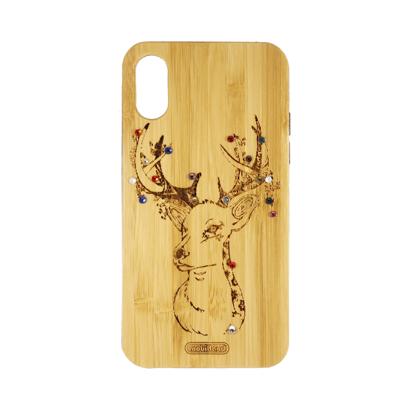 Futrola Wood za iPhone X/XS Deer