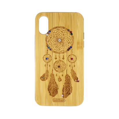 Futrola Wood za iPhone X/XS Catched dreams