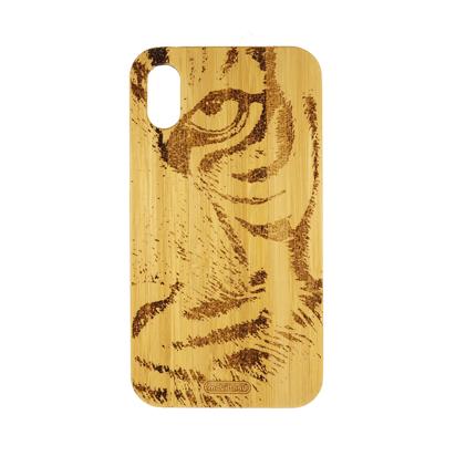 Futrola Wood za iPhone XR Tiger
