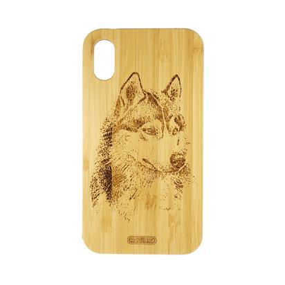 Futrola Wood za iPhone XR Wolf