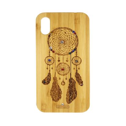 Futrola Wood za iPhone XR Catched dreams