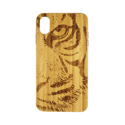 Futrola Wood za iPhone XS Max Tiger