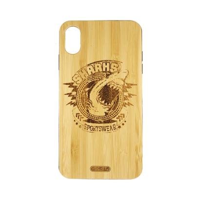 Futrola Wood za iPhone XS Max Sharks