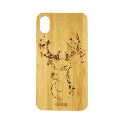 Futrola Wood za iPhone XS Max Deer
