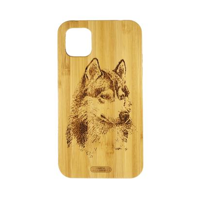 Futrola Wood za iPhone 11 / XI 6.1 inch Wolf