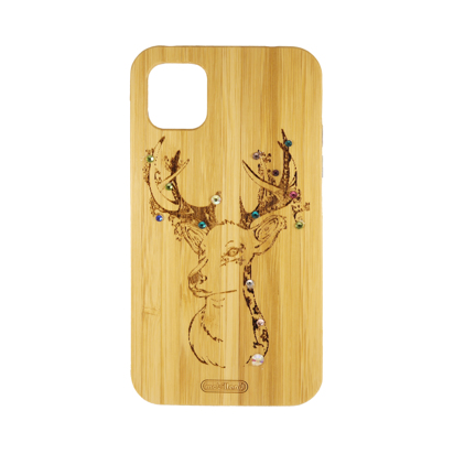 Futrola Wood za iPhone 11 / XI 6.1 inch Deer