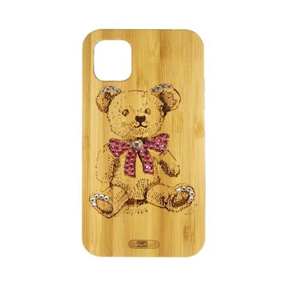 Futrola Wood za iPhone 11 / XI 6.1 inch Teddy bear