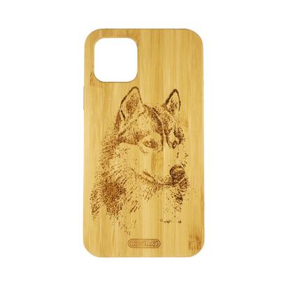 Futrola Wood za iPhone 11 Pro / XI 5.8 inch Wolf
