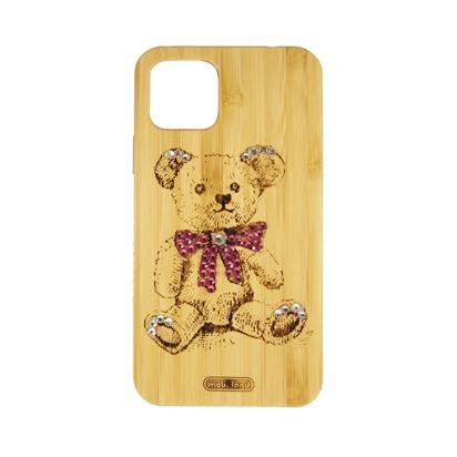 Futrola Wood za iPhone 11 Pro / XI 5.8 inch Teddy bear