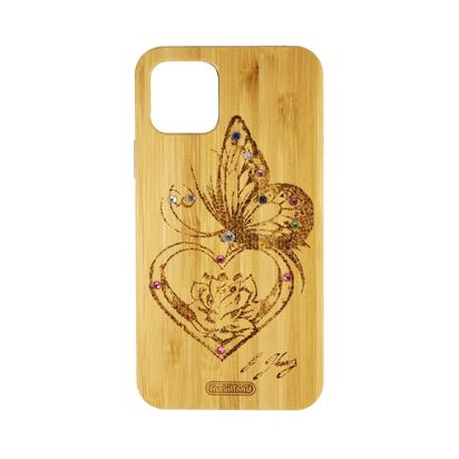 Futrola Wood za iPhone 11 Pro / XI 5.8 inch Butterfly
