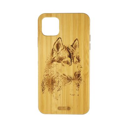 Futrola Wood za iPhone 11 Pro Max / XI 6.5 inch Wolf