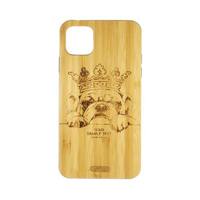 Futrola Wood za iPhone 11 Pro Max / XI 6.5 inch Dog King