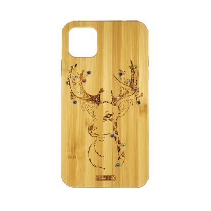 Futrola Wood za iPhone 11 Pro Max / XI 6.5 inch Deer
