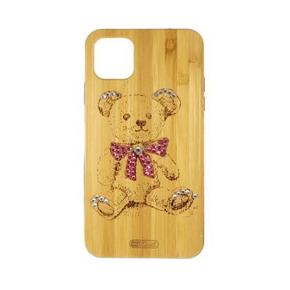 Futrola Wood za iPhone 11 Pro Max / XI 6.5 inch Teddy bear