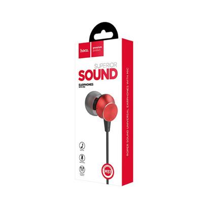 Slusalice HOCO model M51 sa mikrofonom red