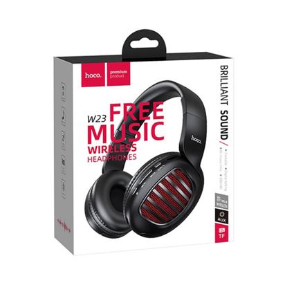 Slusalice HOCO Bluetooth wireless model W23 Brilliant sound crne