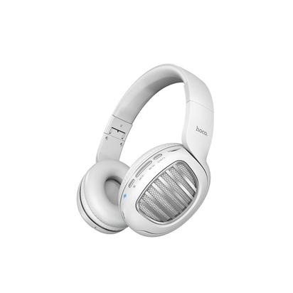 Slusalice HOCO Bluetooth wireless model W23 Brilliant sound bele
