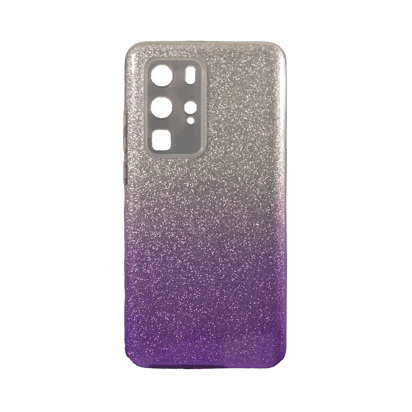 Futrola SHOW YOURSELF za Huawei P40 Pro/Huawei P40 Pro Plus srebrno-ljubicasta
